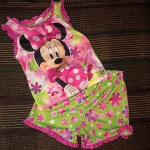 Minnie Mouse Summer PJ Set
